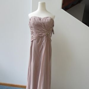 Montage by Mon Cheri Strapless Gown
